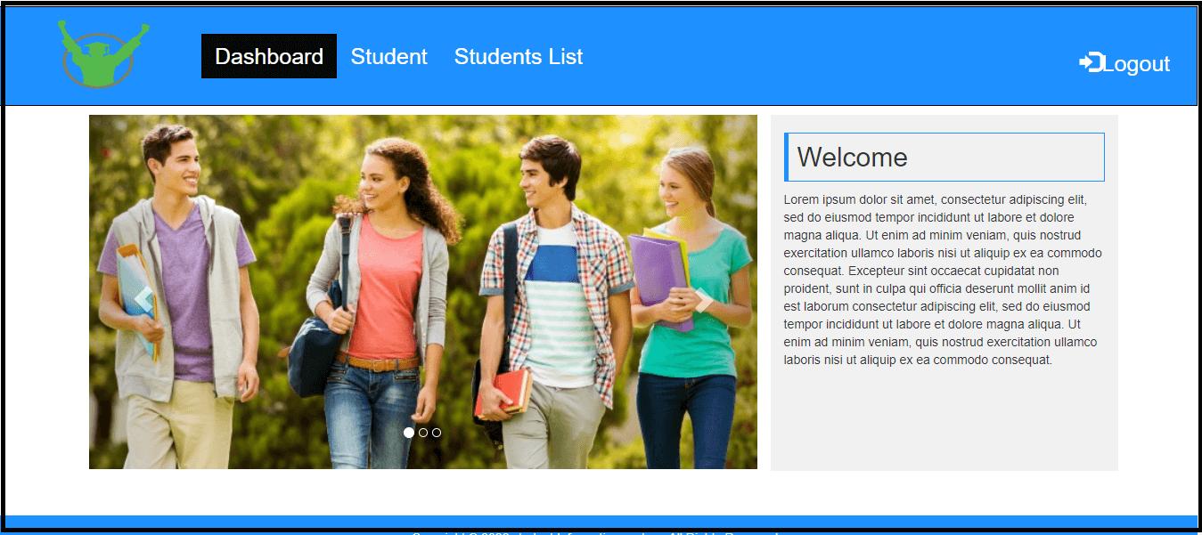 student information system Django