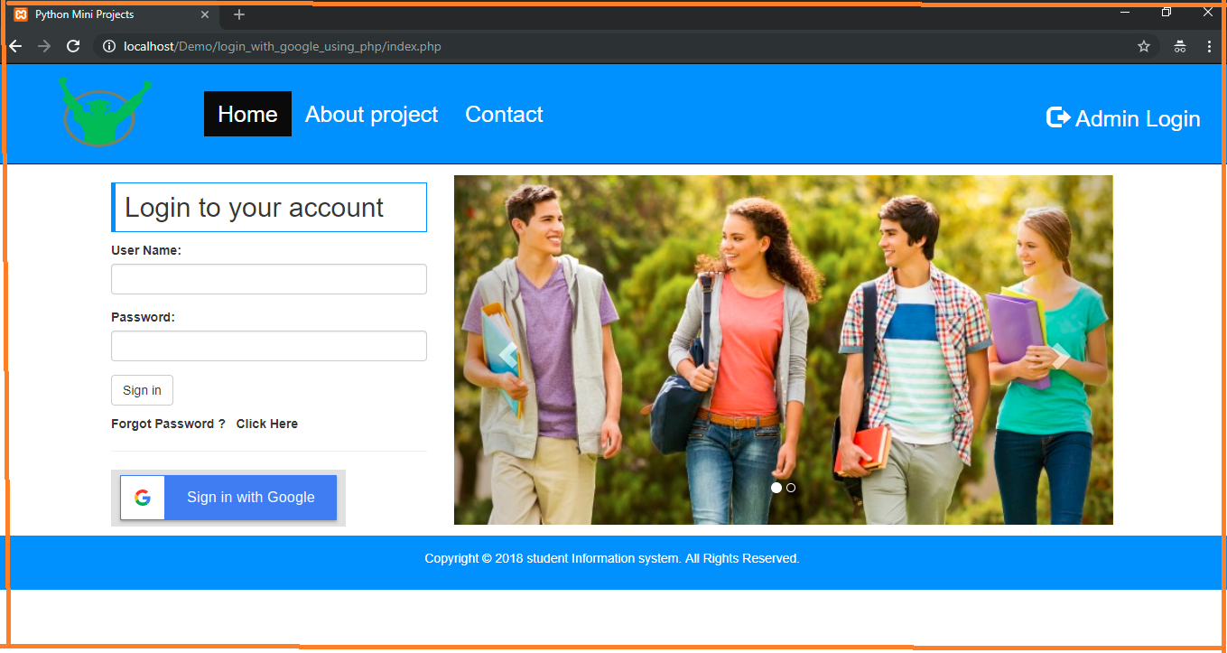 Solved] - Login Using Google API In PHP And MySql With