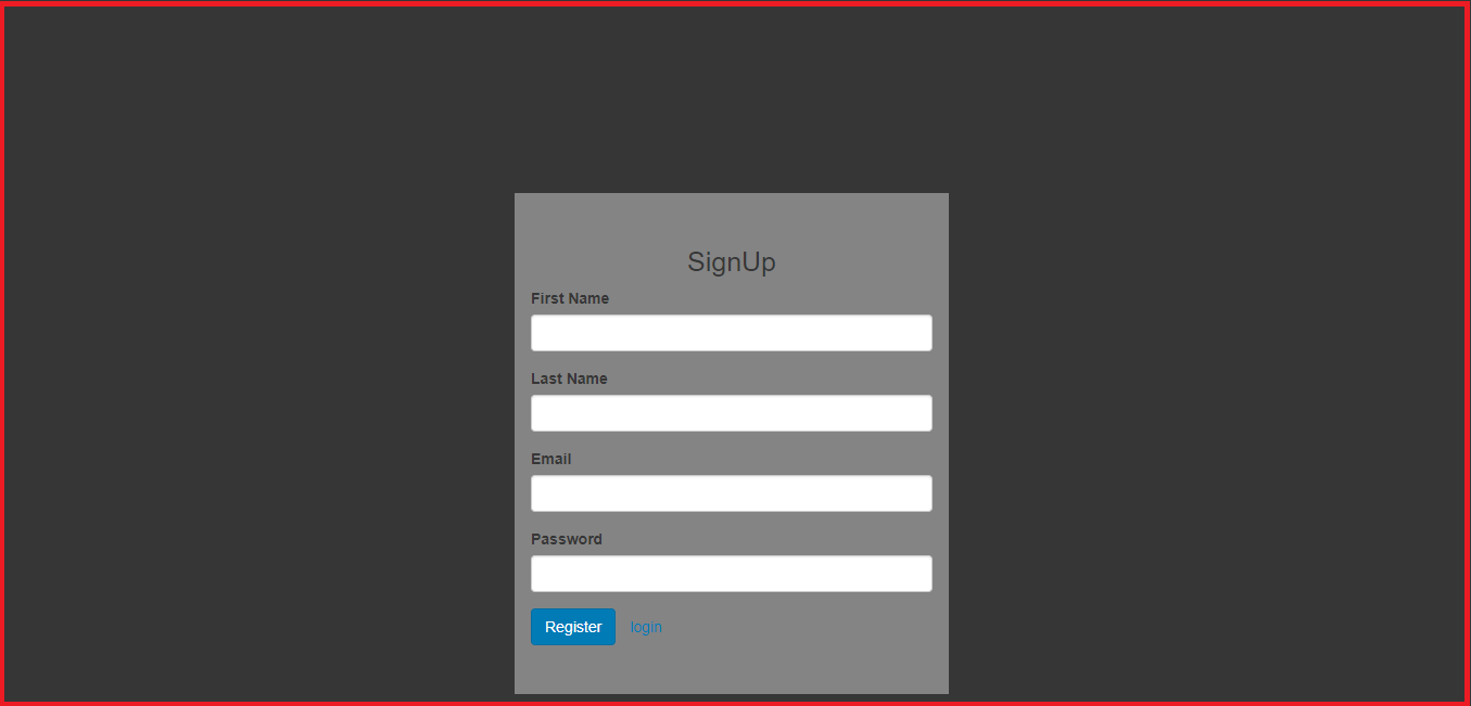 angular 6 registration and login API with PHP